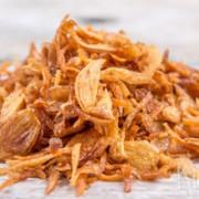 Bawang goreng (gefruite uitjes)