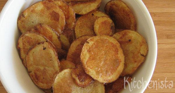 Lekker dikke zelfgebakken chips