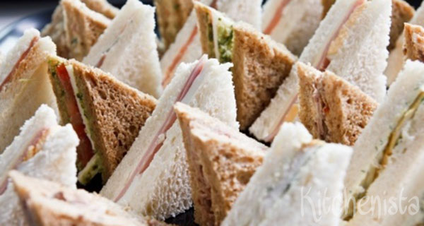 Luxe high tea sandwiches