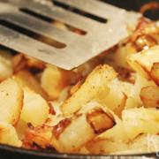 Ouderwets gebakken aardappels
