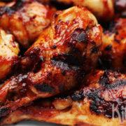 Gemarineerde kippenpoten (BBQ)