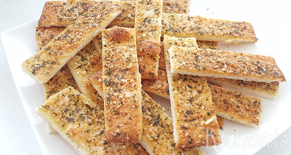 Knoflook-parmezaanbrood
