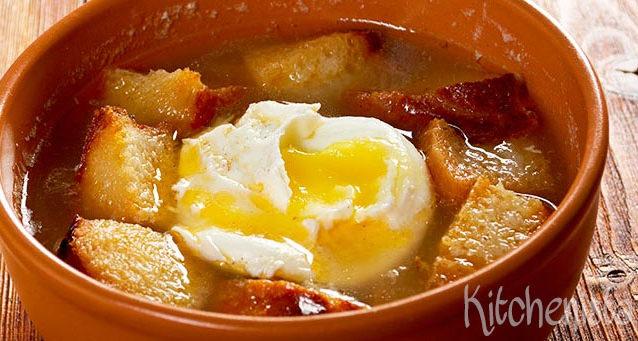 Sopa de ajo (Castiliaanse knoflooksoep)