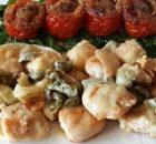 Kip met knoflook, kappertjes en kaas