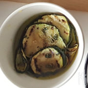 Gegrilde courgette in dressing