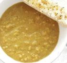 Romige kerriesoep met rijst