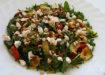 Salade met courgette, rucola en feta