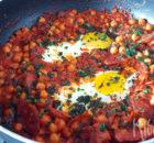 Huevos a la Flamenca (Spaanse flamenco eieren)
