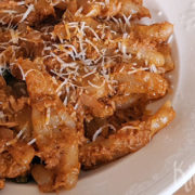 Snelle pasta met tonijn