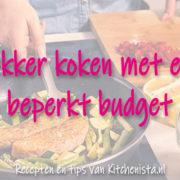 Gratis e-Book: Lekker koken met een beperkt budget