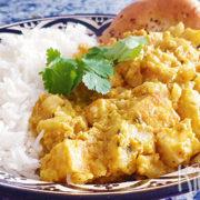 Indiase curry met bloemkool en paneer