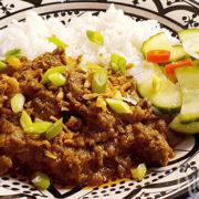 Rendang – Indonesisch stoofvlees met kokos en specerijen