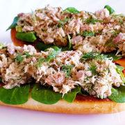 Makreel spread voor op toastjes of brood
