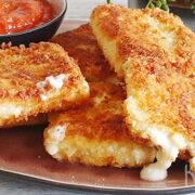 Lasagne snack met mozzarella, ricotta en Parmezaan