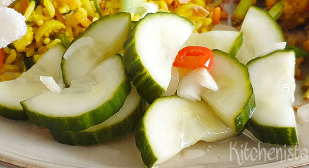 Atjar ketimoen – Indonesische komkommer zoetzuur