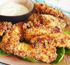 Super crispy chicken tenders zonder te frituren