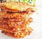 Kletskoppen – knapperige koekjes met amandelen
