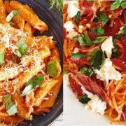 10x snelle pasta, klaar in minder dan een half uur!