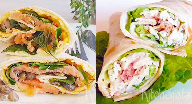 15x lekker gevulde wraps als lunch of lichte maaltijd
