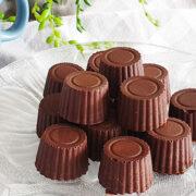 Zelfgemaakte bonbons met hazelnoten en dulce de leche