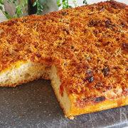 Sfincione – Siciliaanse pizza / focaccia