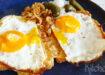 Croûte au fromage – Alpen tosti met ham, kaas en spiegelei