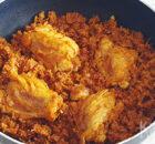 Tbit / Tbeet – slow cooked rijst met kip uit Irak